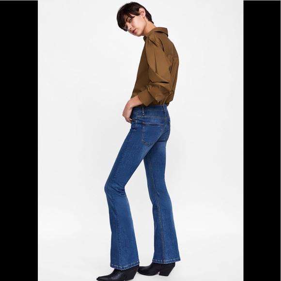 83237423 Zara Jeans | Premium Skinny Flare | Poshmark